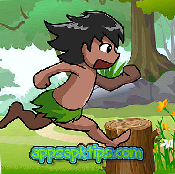 Jungle Boy Running