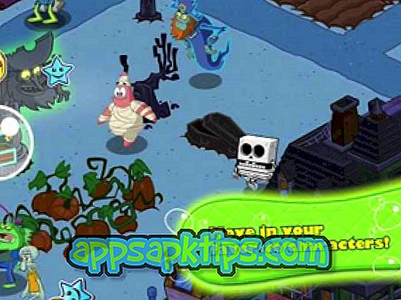 SpongeBob Bergerak Dalam