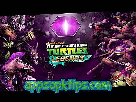 Dospívající mutant Ninja želvy: Legendy