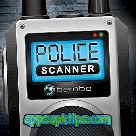 Поліцейський сканер радіо сканера
