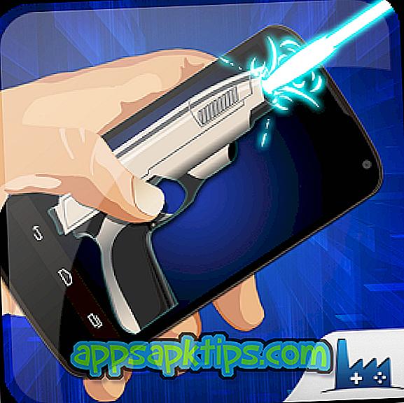 Simulador de pistola láser