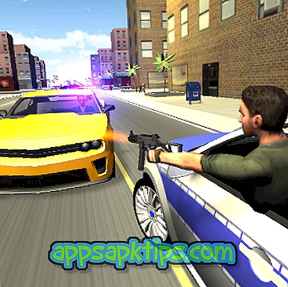 Xe cảnh sát đuổi theo 3D