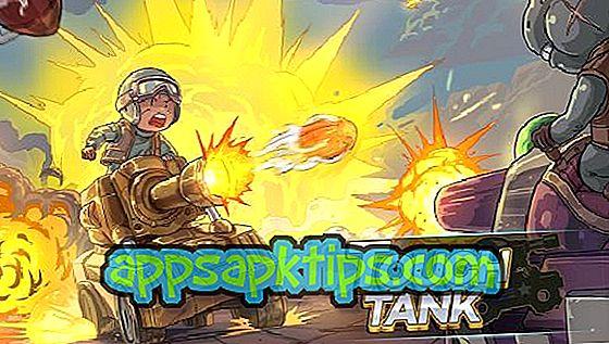 Puudutage nuppu Tank
