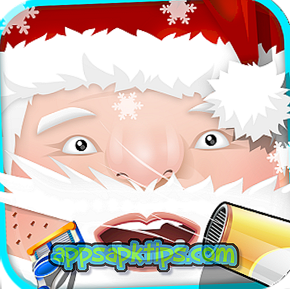 Vianočný vousový salón