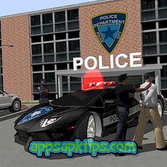 Престъпният град е истински полицейски шофьор